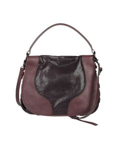 Nannini Women - Handbags - Large leather bag Nannini on YOOX