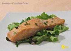 Trancio di salmone nel sacchetto forno ricetta light il chicco di mais