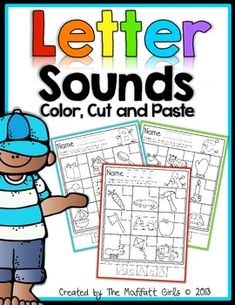 Letter/Sound Packet is an interactive way to practice letter identification, beginning sounds, and fine motor skills