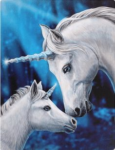 GBP - Magical Unicorn Horse Canvas 'sacred Love' By Lisa Parker Mythical Wall Art Unicorn And Fairies, Unicorn Fantasy, Unicorn Horse, Unicorns And Mermaids, Unicorn Art, Magical Unicorn, Fantasy Art, Love Canvas, Canvas Art Prints