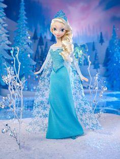 AmazonSmile: Disney Frozen Sparkle Princess Elsa Doll: Toys & Games