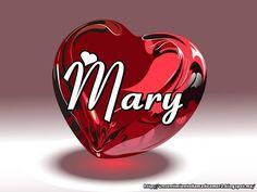 Nombres En Imagen Mary Mi Nombre Pinterest Mary Y Facebook