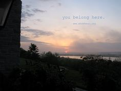You Belong Here.  White House Retreat.  Book your 2013 retreat now.  Call 314-416-6400 or email reservations@whretreat.org