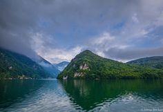 Perućac lake, Serbia