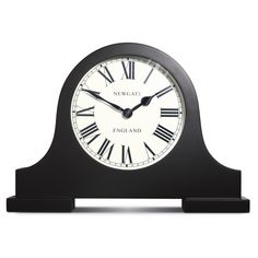 Newgate Mantel Clock Black £55.76 from Reminis in Chirk