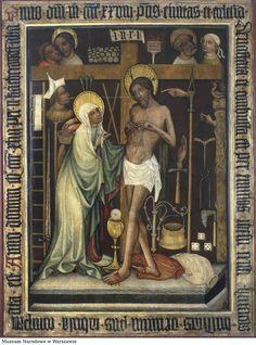 Obraz wotywny z Brzegu  Chrystus umęczony, narzędzia męki :: Wolne Lektury