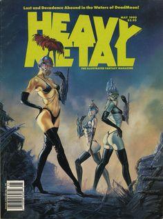 Portada Comic Heavy Metal
