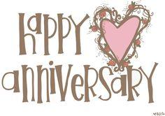 Happy Anniversary Wishes Happy Anniversary Clip Art, Happy Aniversary, Anniversary Greetings, Anniversary Funny, Wedding Anniversary Cards, Anniversary Pictures, Marriage Anniversary, Wedding Cards, Wedding Invitations