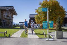 E Biker, Sidewalk, Filling Station, Tourism, Side Walkway, Walkway, Walkways, Pavement