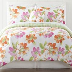 Jardin 5-pc. Twin Complete Bedding Set with Sheets Collection     found at @JCPenney