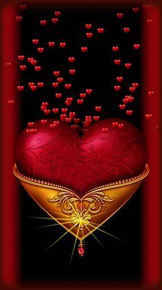 Love Heart Gif, Love Heart Images, Love You Gif, Love You Images, Love Wallpapers Romantic, Romantic Gif, Beautiful Flowers Wallpapers, Good Night Beautiful, Beautiful Gif