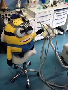 Minion dentista