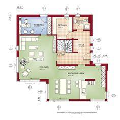 """Das FANTASTIC 163 trägt seinen Namen zurecht: Das Designhaus verbindet ein modernes Wohnkonzept mit bewährtem Grundriss, das durch viele ergänzende Architektur-Bauteile zum fantastischen Eigenheim wird. """"Made by Bien-Zenker"""" garantiert über 110 Jahre Erfahrung, Qualität und Know-how. Das Wohnkonzept des FANTASTIC 163 ist einfach fantastisch: Glaselemente bringen viel Licht ins Haus und eine offene Raumstruktur garantiert ein Lebensgefühl vom Feinsten. Dazu kommen eine zukunftsweisende…"""
