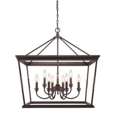 Found it at Joss & Main - Avery 9-Light Candle Chandelier ... 29'' H x 28'' W x 28'' D... 33 lbs.