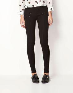 Bershka Serbia - Bershka zip detail trousers