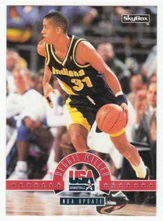 Reggie Miller # 76 - 1994 SkyBox USA Basketball