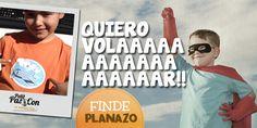 Ya tienes planes para el #finde?? Dale alas a tu imaginación!! www.petitpascon.es #familiasmolonas #planesconniños #planesenfamilia #disfrutadelfinde #quenotelocuenten