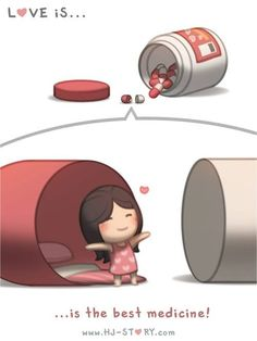 love is... the best medicine (HJ Story)