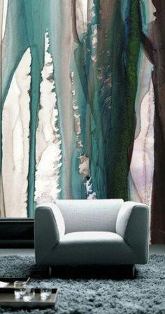Unusual but beautiful effect WaterColor wallpaper