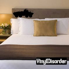 Vinyl Disorder decals are a great way to add a stylistic touch to almost any surface! Car Decals, Vinyl Wall Decals, Armoured Personnel Carrier, Holiday Apartments, Park Hotel, Battleship, Decoration, Design Elements, Croke Park