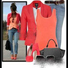 Fresh Bright clothing! Casual wear.