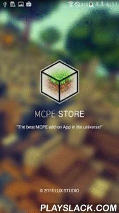 "MCPE STORE  Android App - playslack.com , *** Downloaded folder is ""MCPE STORE"" ****** Help is on the main and menu ****** You can use help by sliding ***It provides many skins, maps, seeds, scripts, seeds, textures, and even mods for MCPE.""Minecraft Pocket Edition"" and ""Minecraft PE"" are registered trademark of Moiang AB. The Contents that The Company(Lux) and our Service provide are not provided by Mojang AB. Therefore, The Company and our Services do not have commercial nor non-commercial…"