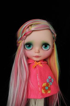 I call her Bohemian Blythe :)