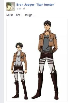 Dont........Laugh........... *Levi leans over shoulder and glares at me* Dont........Fucking......Laugh.......