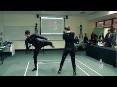 Motion Capture Body Suit... The motion-capture body suit uses cameras to trace the person's movements and transposes them onto a screen where they can be analysed and manipulated. The suit can be used in sport science, biomechanics, games development and psychology studies.