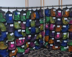For a camp themed Mitzvah, The Crystal Plaza used net bags (the ones many of the kids take to camp) with young guests favors inside.