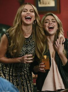 Big laughs! Sarah plays Haley Dunphy on the ABC hit comedy...