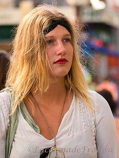 Chica en Avignon