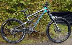 Bergamont Straitline Carbon DH bike 2015