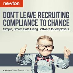 Don't leave recruiting compliance to chance http://applicant-tracking-demo.newtonsoftware.com/ofccp-compliance/