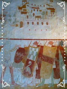 Castello di Avio, affreschi