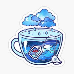 heysoleilart Shop | Redbubble Stickers Cool, Stickers Kawaii, Anime Stickers, Printable Stickers, Funny Stickers, Whats Wallpaper, Kawaii Wallpaper, Cute Food Drawings, Cute Kawaii Drawings