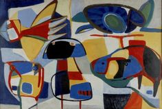 La vie colorée (1951) by Karel Appel - Stedelijk Museum Amsterdam