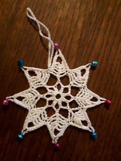 Crochet Earrings, Christmas Ornaments, Holiday Decor, Home Decor, Xmas Ornaments, Homemade Home Decor, Christmas Jewelry, Christmas Baubles, Decoration Home