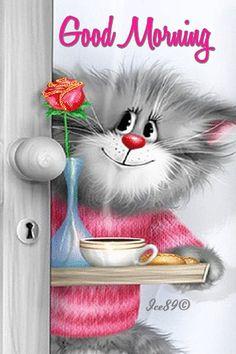 cute good morning cartoon pics - Bing Images