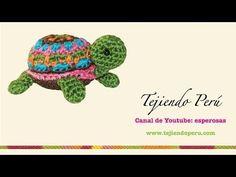 Tutorial Tortuga Amigurumi Ganchillo | Crochet - YouTube
