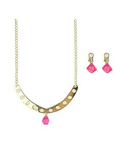 Kids Shine Necklace and Earring Set - Shimmer and Shine - Spirithalloween.com