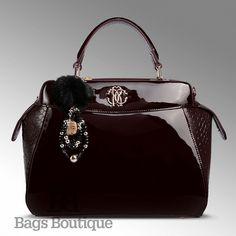 Купить сумку Roberto Cavalli Classic handbag (Классик Хэндбэг) по доступной цене со скидкой 89.8% в интернет-магазине Bags Boutique