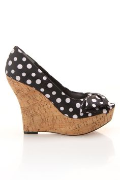 Polka Dot Wedge