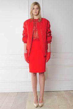 Rachel Roy RTW Fall 2014 - red