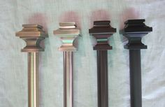 Go architectural with our Zinc Cast Structural rod sets. — urbanest living