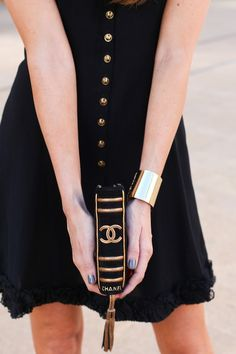 Nothing can be more chic than a Chanel book clutch!