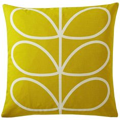 Linear Stem Cushion in Sunflower House
