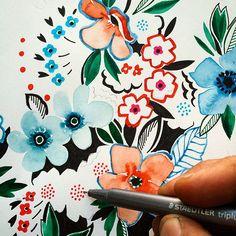 floral print via instagram nuprimary