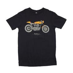 DEUS EX MACHINA MOTO GRIGIO T-SHIRT BLACK