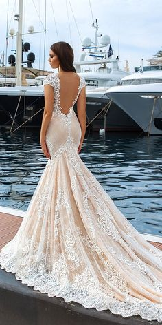 Crystal Design 2017 Wedding Dresses Collection ❤ See more: http://www.weddingforward.com/crystal-design-2017-wedding-dresses-collection/ #weddings